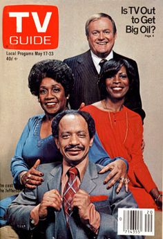 jeffersons tv show | Jeffersons; TV Guide Cover For May 17, 1980 - Sitcoms Online Photo ...