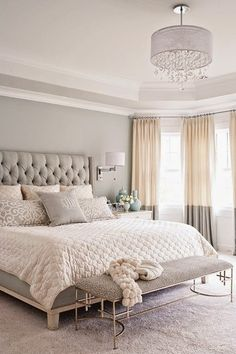Copy Cat Chic Room Redo | Soft Gray Bedroom