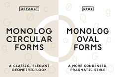 Monolog by Polytype on @creativemarket