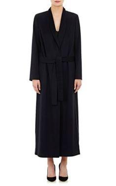 The Row Cashmere Melton Daulton Long Coat at Barneys New York