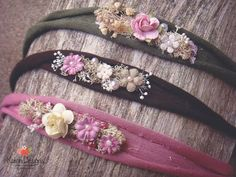 Tiebacks feature jersey fabric, natural elements, peals, assortment of flowers Each one of our adorable tiebacks are a great addition to any