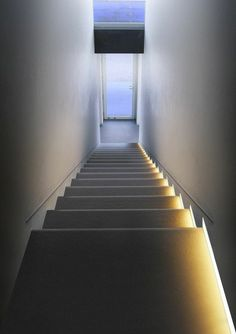 indirect stair lighting indirect lighting stairs