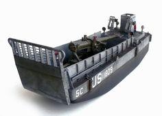 WWII US Navy LCM (3) Landing Craft
