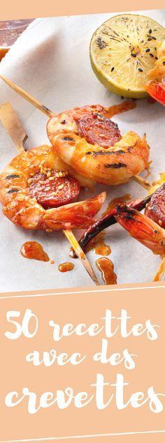 Découvrez nos 50 délicieuses recettes avec des crevettes