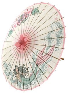 Tattooed Mermaid Pin-Up Parasol at PLASTICLAND