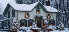 american country christmas decorations - Google Search