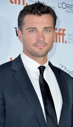 "Black Tie - Tom Welling at Toronto Film Festival 2013 for opening of ""Parkland"""