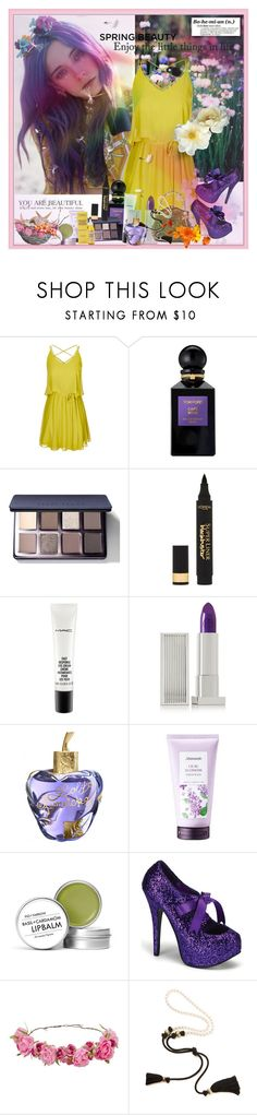 """"""" #228"""" by wonderful-paradisaical ❤ liked on Polyvore featuring City Chic, Tom Ford, Bobbi Brown Cosmetics, L'Oréal Paris, MAC Cosmetics, Lipstick Queen, Lolita Lempicka, Mamonde, Fig+Yarrow and Bordello"""