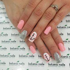 Botanic Nails, Colorful Nail Designs, Nail Colors, Nailart, My Style, Instagram Posts, Finger Nails, Nail Manicure, Nail Ideas