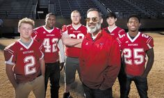 East Rowan's Kenneth McClamrock is the coach of the year.