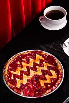 This is a composite sketch of the perfect cherry pie The buttery, well-seasoned crust is adapted from the Cherry Pie That'll Kill Ya at Butter & Scotch, a bar and bakery in Crown Heights, Brooklyn, that holds an occasional Twin Peaks Tuesday, with cocktails and diner foods named after the characters in David Lynch's quirky 1990s television show. It uses a mock buttermilk crust, meaning that you curdle regular whole milk with apple cider vinegar instead of having to buy buttermilk ...