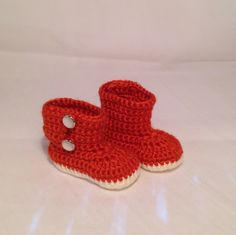 Items similar to Autumn Boots For Girls Or Boys on Etsy Handmade Baby Items, Handmade Gifts, Crochet For Kids, Knit Crochet, Baby Shoes, Etsy Shop, Cars, Knitting, Trending Outfits