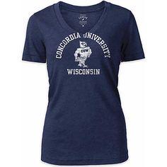 League Concordia University Wisconsin Women's V-Neck T-Shirt $24.00