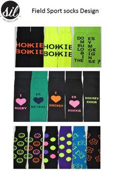 Field Sport socks Design. #socksforafrica #thesockilove #sil Netball, Designer Socks, Sport Socks, Sports, Hs Sports, Sport