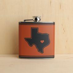 Texas Flask 6oz