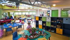 A vibrant kindergarten in Levin, NZ: Taitoko, that is recognised as the 'healthiest' and as a 'hub of the community'.