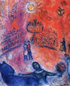 marc chagall paintings | Marc Chagall and The Funhouse