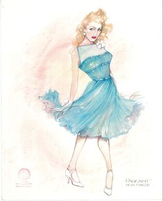 Costume Design Sketch, Pageant, Theatre, Disney Characters, Fictional Characters, Movie, Illustrations, Costumes, Disney Princess