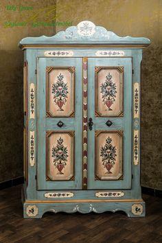 Voglauer Anno 1700 Bauernschrank Kleiderschrank Schrank Landhaus Weichholz Antik | eBay