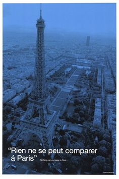 I agree with this poster.  There is no other city that can compare with Paris!