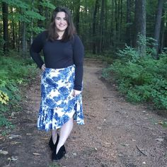 LuLaRoe Bella Price | The Bella only came in DTY fabric, or the slinky fabric you find in maxi skirts. I'm excited for this fabric in this skirt because it will provide movement  to the skirt. Additionally, it packs really well. You don't have to worry about DTY wrinkling. It's also fairly light in regards to weight. I'm always cutting it close with bag weights when flying! This is the perfect recipe for a vacation-worthy skirt!