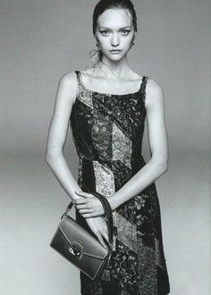 Gemma Ward   Prada mooie jurk - mooie foto