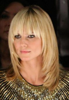 Image detail for -Celebrity Hairstyles - Heidi Klum with Bangs (#406314) / Coolspotters