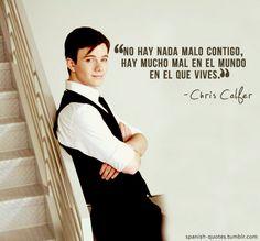 Chris Colfer, Glee Club, Rachel Berry, Cory Monteith, Darren Criss, Spanish Quotes, Narnia, Pretty Little Liars, Rap
