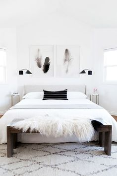 Get ready for some major design inspiration and advice with this fashion It girl's master bedroom makeover.