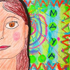 In the Art Room: Beautiful Oops Self-Portraits with Third Grade - great idea for 3rd portraits! love it!