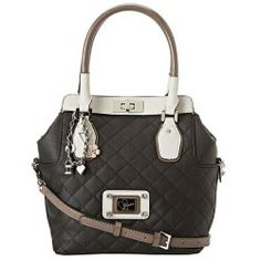 Buy GUESS - Rianne Turnlock Satchel (Black Multi) - Bags and Luggage new - Zappos is proud to offer the GUESS - Rianne Turnlock Satchel (Black Multi) - Bags and Luggage: Accent your extraordinary style with the good looks and preppy charm of the GUESS Rianne Large Top Handle Flap.