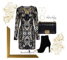"""""""BHalo26"""" by hinson-hunny ❤ liked on Polyvore featuring River Island, Chanel and bhalo"""