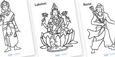 Diwali Colouring Sheets free to join ~ATS Diwali Activities, Church Activities, Craft Activities For Kids, Kids Crafts, Colouring Sheets, Colouring Pages, Diva Lamp, Diwali Decorations At Home, Infant Classroom