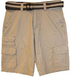 Rue21 Mens Classic Length Cargo Shorts Light Khaki Rue21 http://www.amazon.com/dp/B00U7OJ488/ref=cm_sw_r_pi_dp_1dX9ub14FJYJV