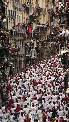 San Fermin! #Spain #Festival #Celebrate #Travel #PlanYourEscape #LittleHotels