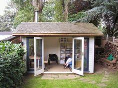 Uk garden office uk, backyard office, outdoor office, s Garden Office Uk, Shed Office, Backyard Office, Outdoor Office, Backyard Kitchen, Office Doors, Small Shed Plans, Small Sheds, Outdoor Garden Rooms