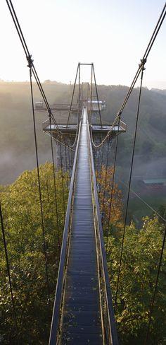 pinterest.com/fra411 #road - Viaduc de la Souleuvre, La Ferrière-Harang, France