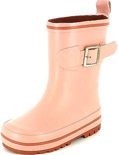 Bottes de pluie à boucles                              rose Petite fille
