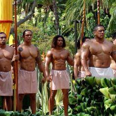 Polynesian men