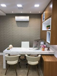 New medical office furniture decor Ideas Office Cabin Design, Small Office Design, Office Furniture Design, Furniture Layout, Dark Furniture, Office Designs, Furniture Outlet, Discount Furniture, Luxury Furniture
