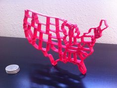 Lower 48 States by anewsome - Thingiverse