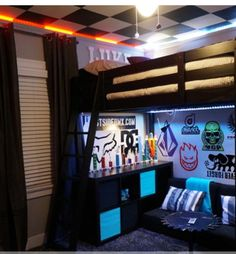 Skateboard Bedroom skater themed bedroom | skateboard bedroom b | kids rooms