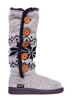 Malena Crotchet Button Up Boot by MUK LUKS on @HauteLook