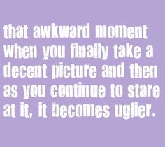 i seriously do that... it's horrible!