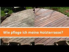 holzterasse reinigen und entgrauen youtube balkon pinterest. Black Bedroom Furniture Sets. Home Design Ideas