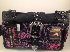 Muddy Girl Concealed Carry Handbag