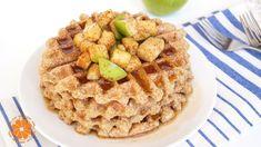 Cinnamon Apple Waffles | Healthy Fall & Back To School Breakfast Ideas |...