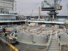 Still a hard-hat area, Regal Princess will have guests aboard shortly