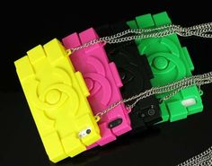 7 colors Silicone luxury cellphone case for iPhone by HaHaCase2013, $10.99