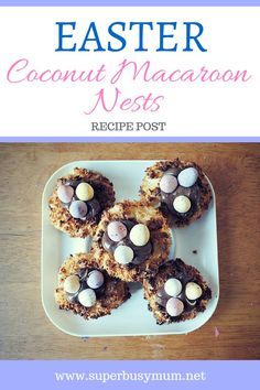 Easter Coconut Macar
